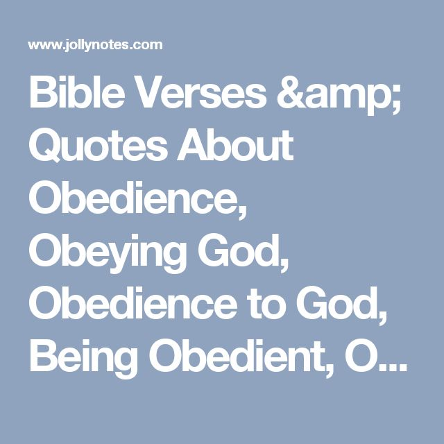Obedience To God Quotes