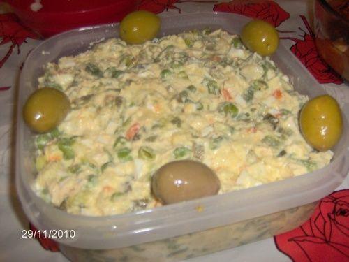 Salata ruseasca - imagine 1 mare