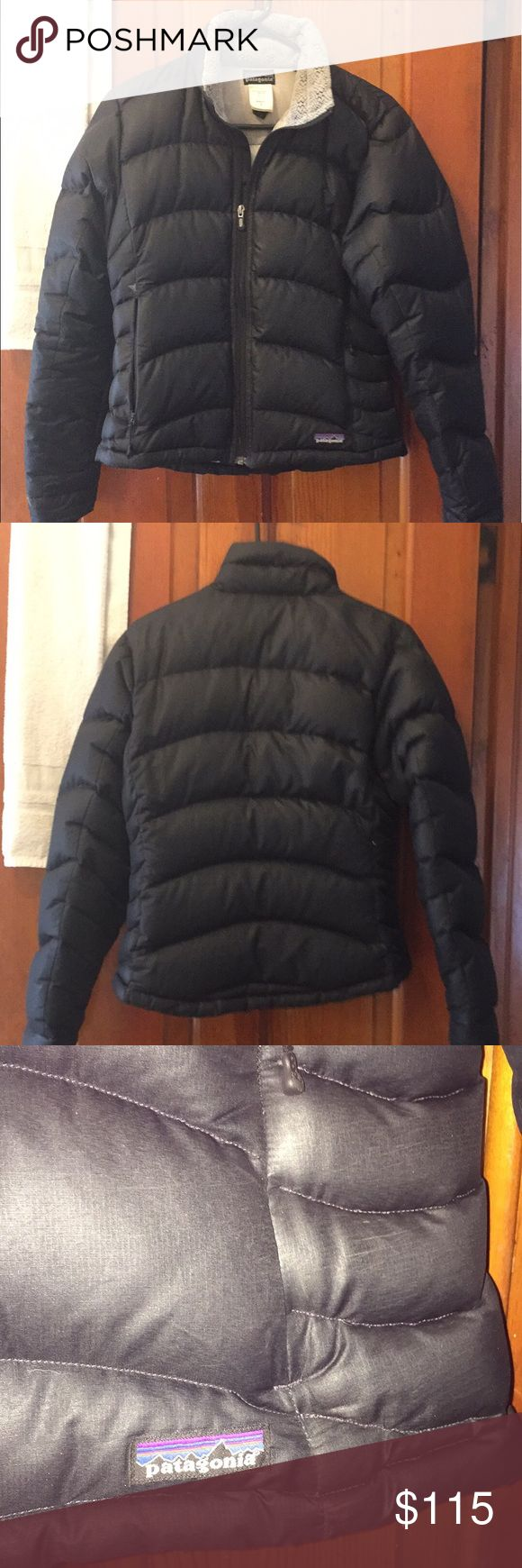 Patagonia down sweater women's small Black in the outside grey inside. Excellent condition runs a bit small. Patagonia Jackets & Coats Puffers