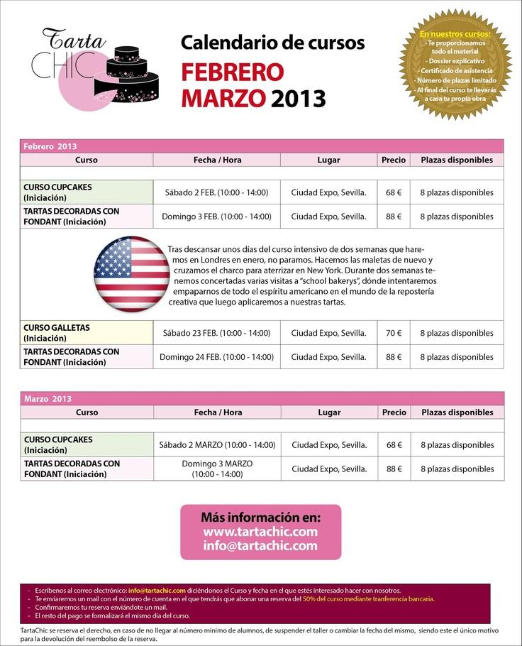 Cursos febrero/marzo 2013