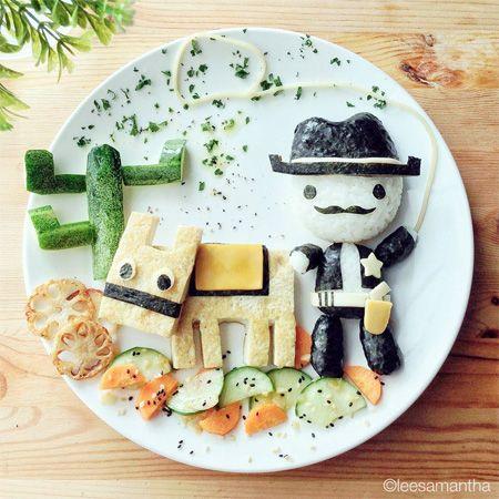 Cowboy Food Art