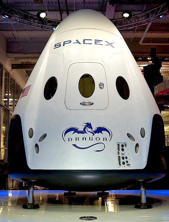 SpaceX Dragon Spacecraft | spacex-dragon v2