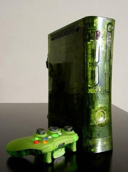 XCM 360 Full Case incl. Controller Shell (Halo Green, non-hdmi)