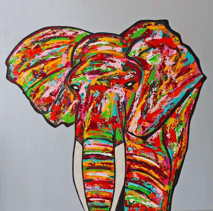 Gemälde Acryl Leinwand Dekoration Original Keilrahmen bunt Unikat abstrakt