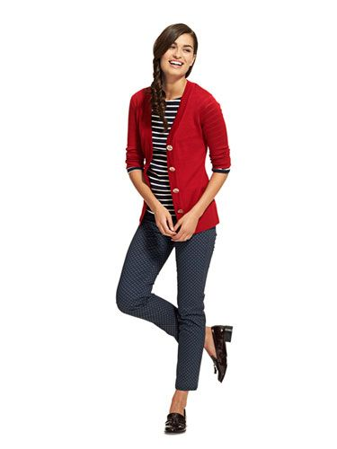 *mix prints & a splash of color* Fall Outfit Ideas And Trends - Fall Fashion On A Budget - Redbook