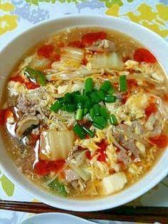 【簡単】本格!酸辣湯麺(サンラータン麺) レシピ・作り方 by あーやO(≧▽≦)O