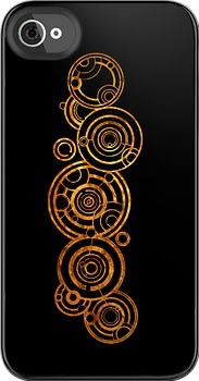 Gallifreyan phone case