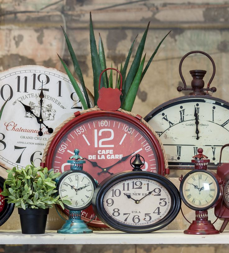 Wall Clocks of all sizes and styles! Enjoy the moments with Chic Ville