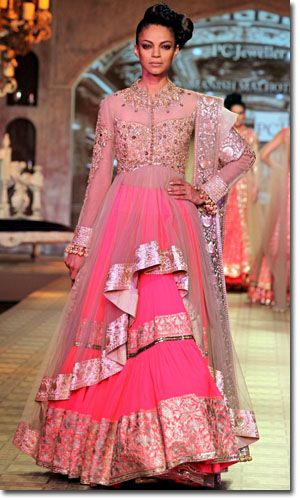 Manish Malhotra Bridal Collection with Sarees, Salwars & Lehengas
