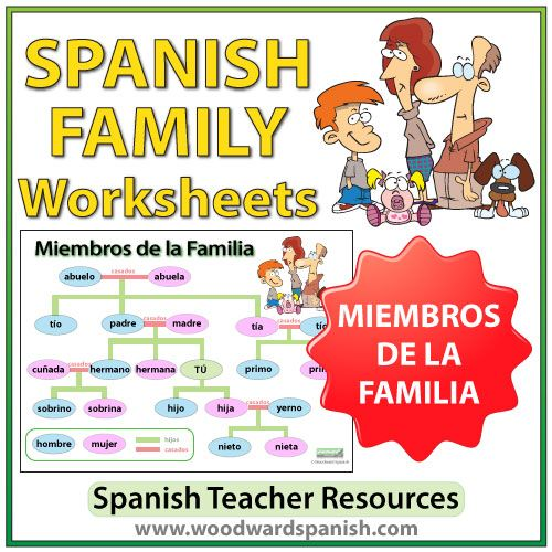Best 25+ Spanish worksheets family ideas on Pinterest | Have in ...