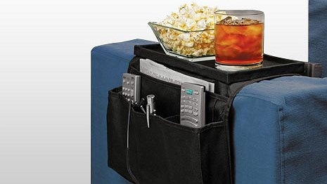 Win Win Deals! - Quickly Organize and Store all your Favourite TV Accessories with this Armrest Organiser for $19!