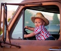 country baby!!  Would love to get a shot with the hay included
