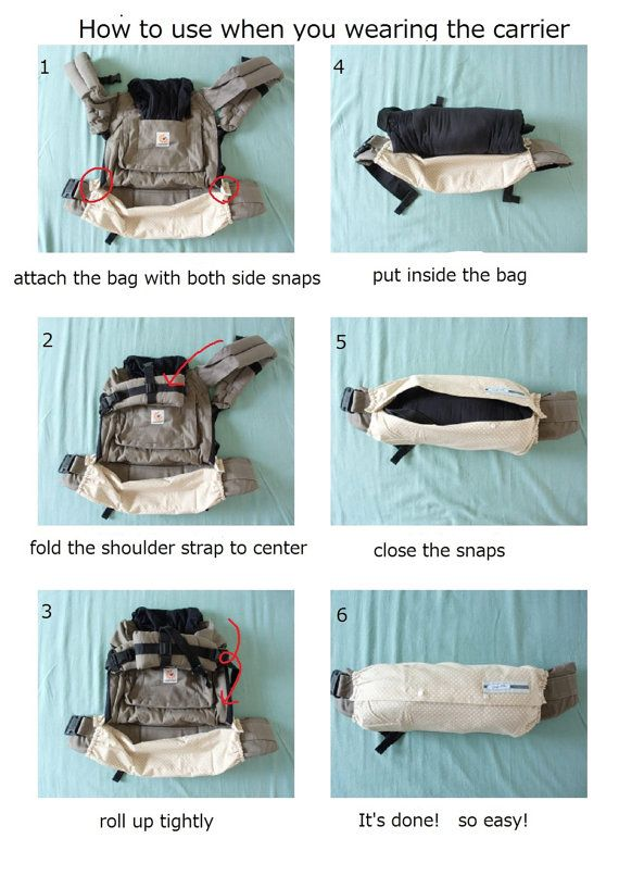 BABY CARRIER BAG--For Ergo Baby,Tula,Mei Tai,Beco,Boba,Manduca,Case,BeigeDots,Storage of Baby Carrier on Etsy, $30.94 CAD