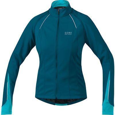 Gore Bike Wear Phantom 2.0 WindStopper Jacket - Women's Ink Blue/Scuba Blue XXL