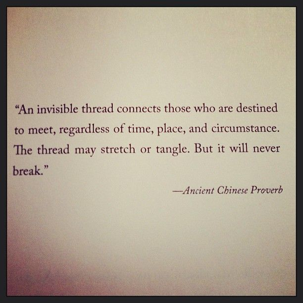 An Invisible Thread - some people's lives are harder than we can imagine