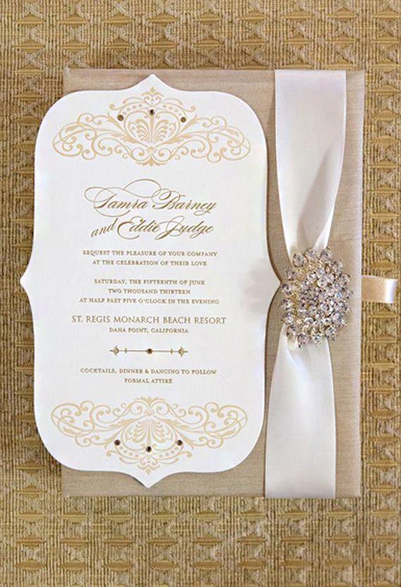 Tamra Barneyu0027s Wedding Invitation