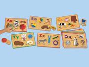 #LakeshoreDreamClassroom Alphabet Sounds Picture Puzzles