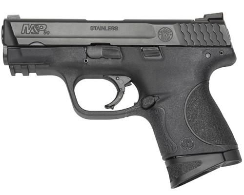 """Smith & Wesson, M&P, Compact, 9MM, 3.5"""" Barrel, Polymer Frame, Blue Finish, Low Profile Carry Sights, 10Rd, 2 Magazines"""