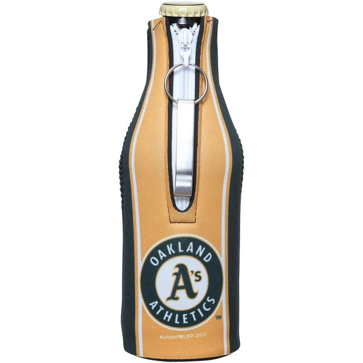 Oakland Athletics Striped Bottle Suit with Opener