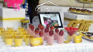 Shots de maracuyá y de fresa Elite house, eventos y decoraciones.  Barranquilla, Atlántico  Fb: www.facebook.com/elitehousebq  Instagram: elitehousebq  Web: www.elitehousebq.blogspot.com.co