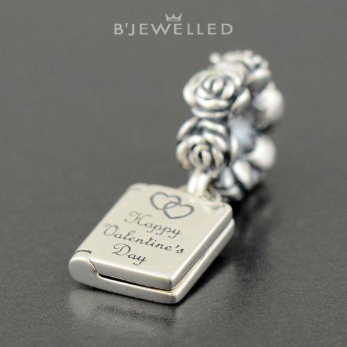 Authentic Genuine Pandora Sterling Silver Valetine Love Note Dangle - 791246