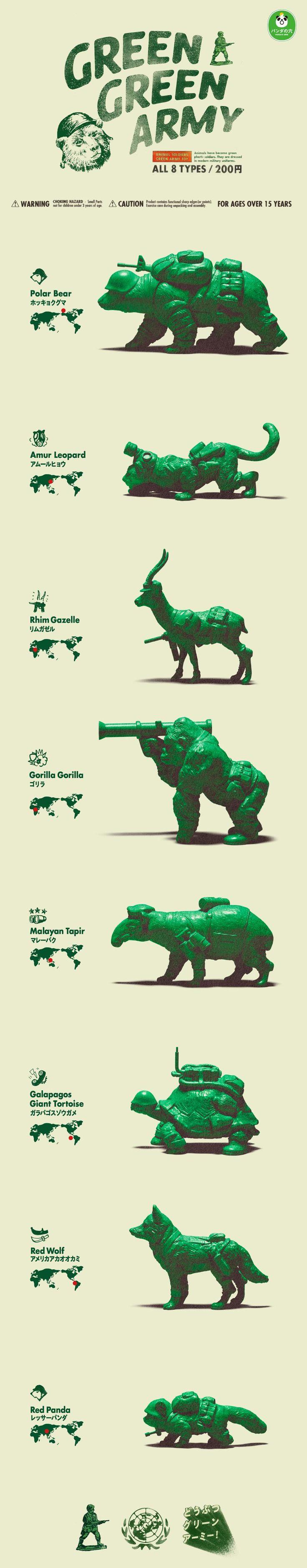 GREEN GREEN ARMY, Panda No Ana