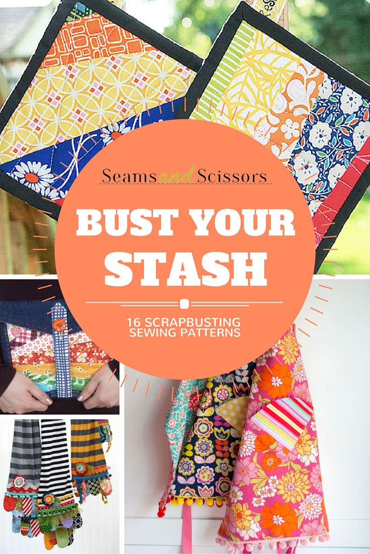 16 sewing projects to use up your scraps!
