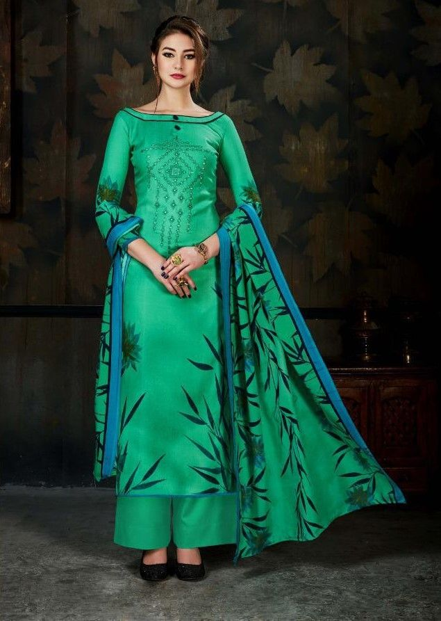 39b4712d70 Sargam Sameera Digital Printed Work Pashmina Suit (8 pc Set ...