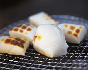 Learn How to Make Japanese Grilled Mochi (Rice Cake): Yaki Mochi (Grilled Japanese Rice Cake)