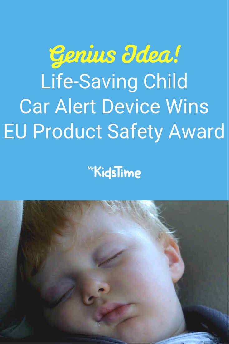 Life-Saving Child Car Alert Device Wins EU's Product Safety Award