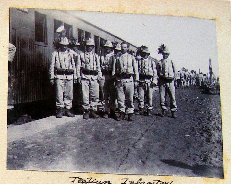 original 1900 war photograph THE BOXER REBELLION UPRISING Italian infantry