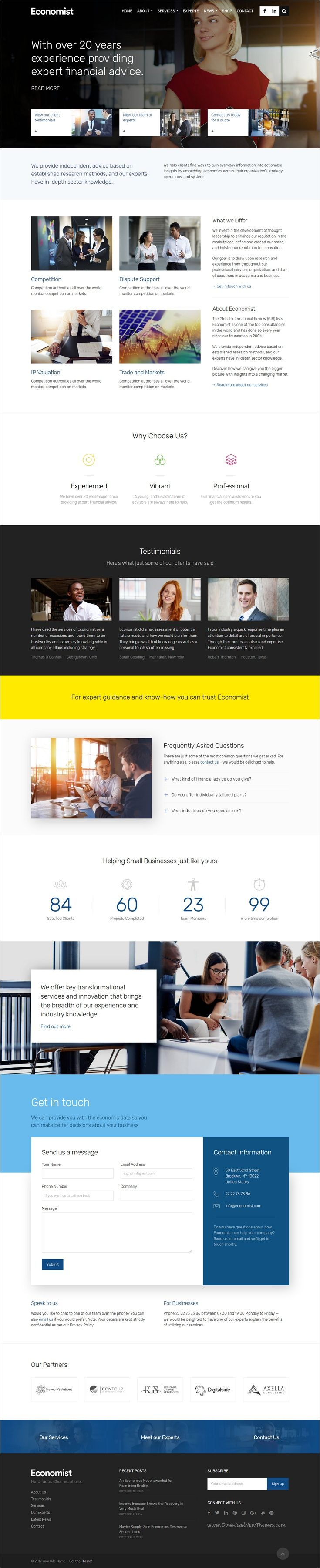 Economist is beautifully design responsive #WordPress theme for #business and #finance website download now➩ https://themeforest.net/item/economist-business-and-finance-wordpress-theme/18818473?ref=Datasata