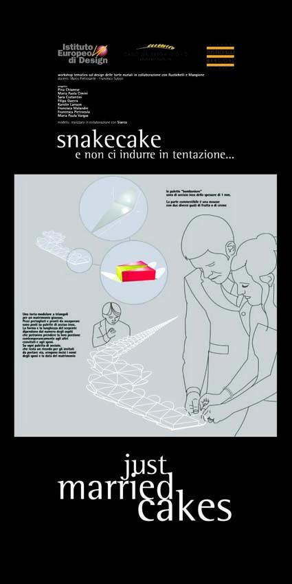 Master Food Design IED Roma 2006 - Just married cakes - 8    #masterfoodesign #iedroma #foodesign #design #food #drink #weddings #kromosoma #francescosubioli #design #architecture #art