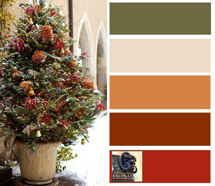 Tuscan decorating colors- pretty much my whole house!