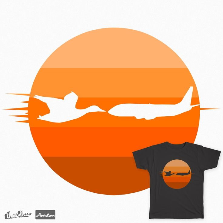CRASH IN THE SUNSET VIEW on Threadless