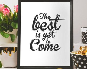 Printable art Printable gift-Quote by BeePrintableQuoteArt on Etsy