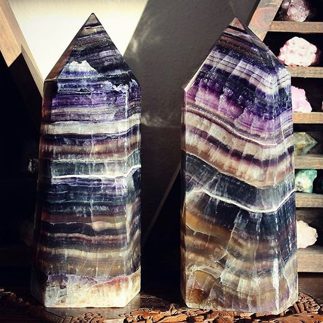 ✨I have crystal dreams about these giant fluorite towers