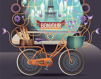 "Check out new work on my @Behance portfolio: ""Bonjour"" http://be.net/gallery/36101475/Bonjour"