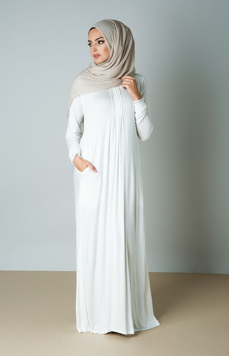 White Sea Abaya
