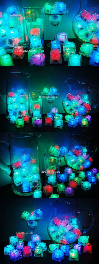 Other Gift and Party Supplies 170115: Set Of 96 Litecubes Brand Rainbow Light Up Led Ice Cubes -> BUY IT NOW ONLY: $169.95 on eBay!