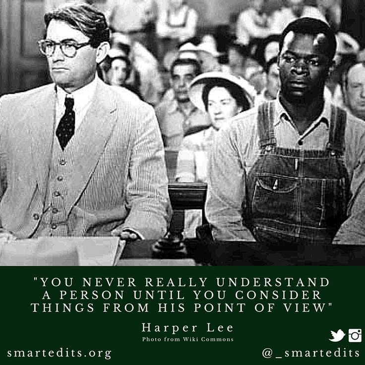 """A quote to remember #HarperLee: """"You never really understand a person until you consider things from his point of view."""" #ToKillAMockingbird  #QOTD #LiteraryQuotes #365Quotes #DailyQuotes #Literature #Reading #Books #WordsofWisdom #WiseWords #BookLove #Book #Novel #Authors #Writers #Inspiration #DailyInspiration #BookNerd #Bookworm #LifeQuotes"""