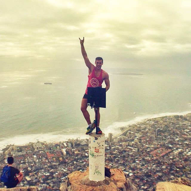 Cape Town adventures at Lions Head.