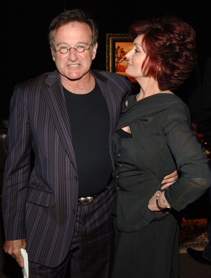 Sharon Osbourne And Robin Williams Got Into Bed Together Once, But It's Not What You Think | The Huffington Post