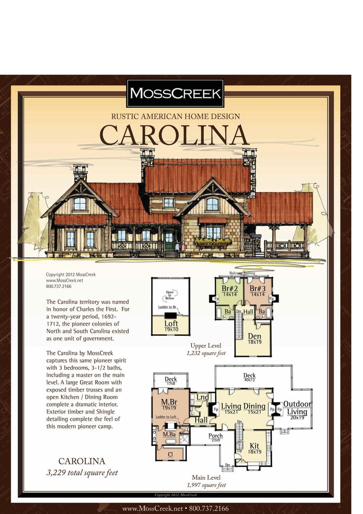 Moss creek carolina houseplans pinterest home and for Moss creek home designs