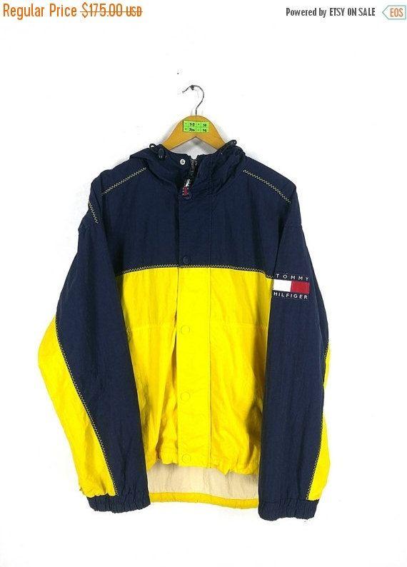 SALE 25% TOMMY HILFIGER Jacket Medium by CaptClothingVintage