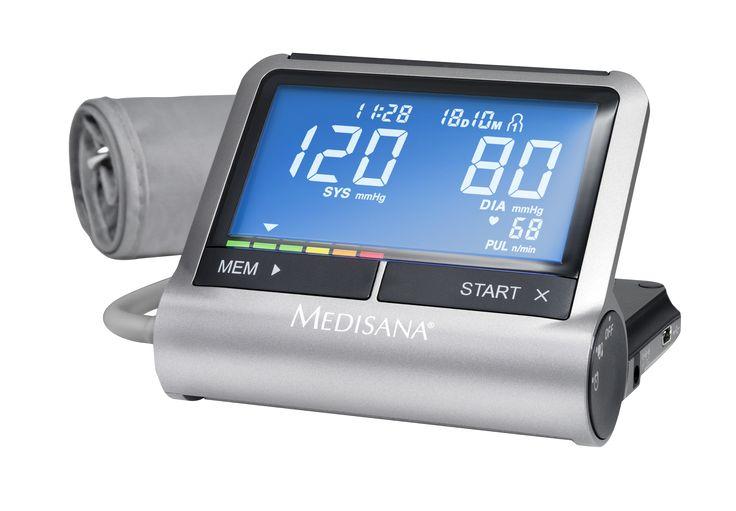 """MEDISANA CardioCompact felkaros """"okos-vérnyomásmérő"""" beépített ébresztőórával"""