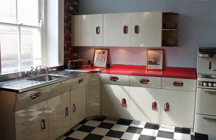 English Rose Kitchen - I have old beat up English Rose kitchen units that I am getting restored for my all-new kitchen!