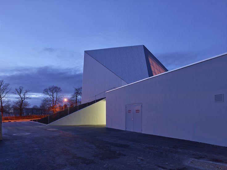 Palais des sports - Loudéac 22 - Bohuon Bertic Architectes