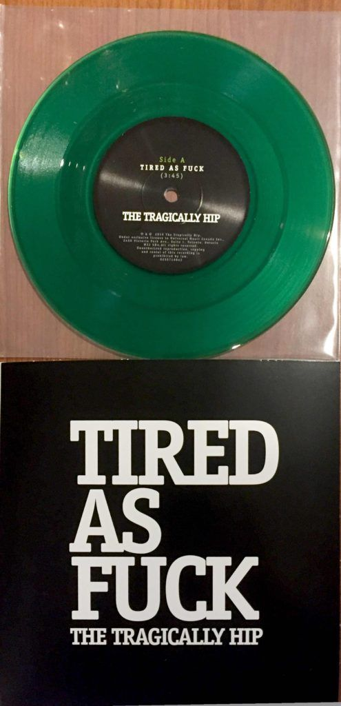 This Limited Edition Tragically Hip 7-Inch Should Get You Out on Black Friday