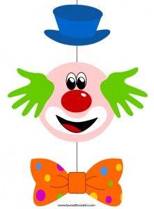 Прикраса-карнавал клоун
